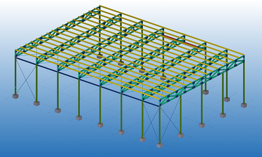 SBC Foods Awning, St Mary's | Stress-Free Structural Central Coast - Steel Detailing Draftsman