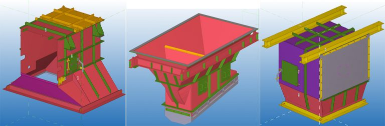 Chutework, Tarrawonga CHPP   Steel Structural Detail - Stress-Free Structural Central Coast