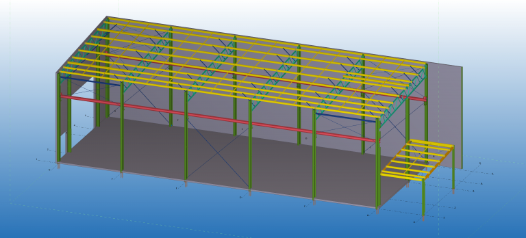 Stress Free Structural Factory Rebuild | Steel Detailing Central Coast - Woy Woy