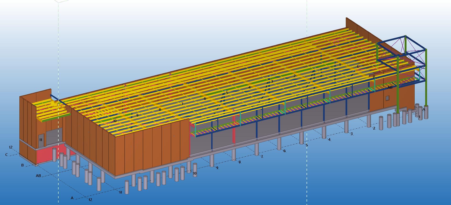 Precast Panel Detailing | Stressfree Structural Detailing Hunter Valley - Gillieston Heights IGA complex
