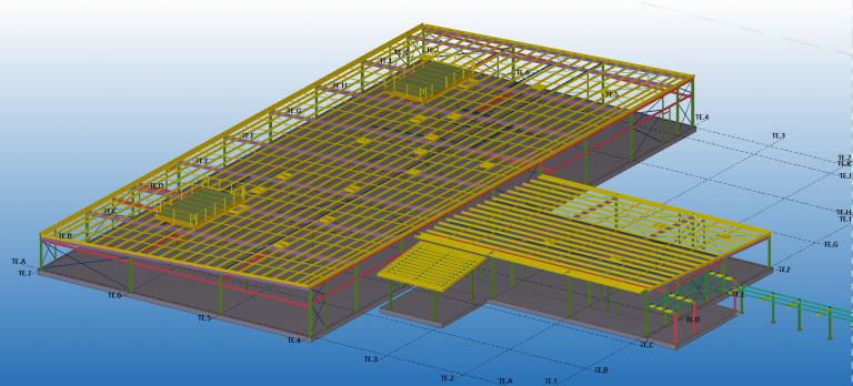 Liverpool Hospital Temp Education Building - Stressfree Structural Detailing | Draftsman